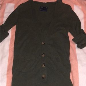 American Eagle cardigan button up